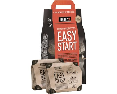 Weber Grillbriketts Easy Start Premium Bei Hornbach Kaufen