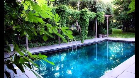 garden and pool ideas exotic garden swimming pools designs youtube