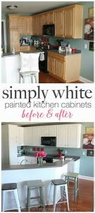 painted kitchen cabinets with benjamin moore simply white With kitchen colors with white cabinets with kids love stickers com