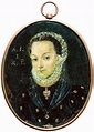 Miniature of Anna Jagiellon by Anonymous from Poland, ca ...