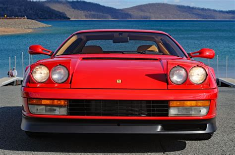 Lining embroidered on request or koenig specials. Used 1989 Ferrari Testarossa For Sale (Special Pricing)   Ambassador Automobile LLC. Stock #107