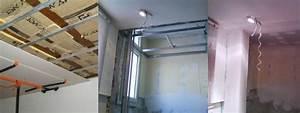 Faux Plafond Autoportant : faux plafond et pose en r novation plaquiste annecy fr ~ Nature-et-papiers.com Idées de Décoration