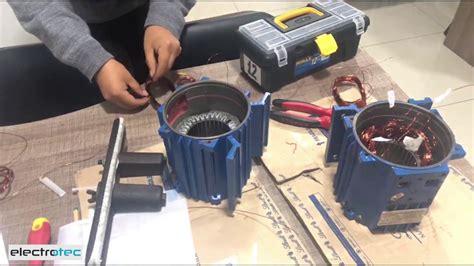 c 243 mo reparar un motor el 233 ctrico bobinado de un motor monof 225 sico youtube