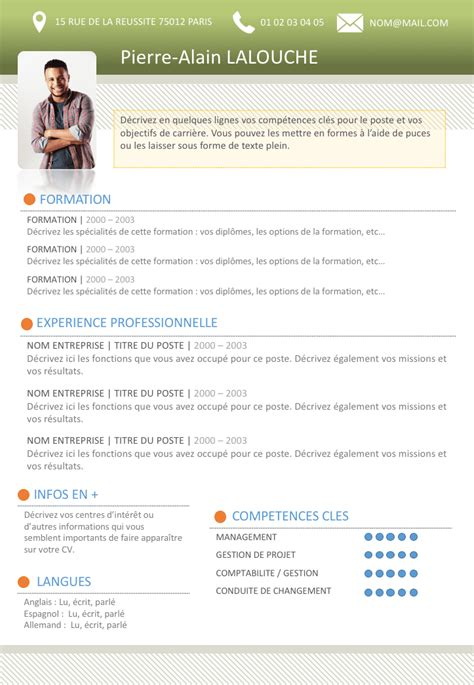 Exemple De Cv étudiant by Cv Etudiant Exemple
