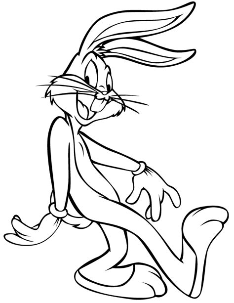 Bugs Bunny Coloring Sheets Printable