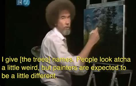 Bobs, Bob Ross And Therapy On Pinterest