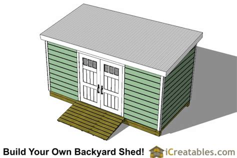8 x 16 shed plans 8x14 lean to shed plans storage shed plans icreatables