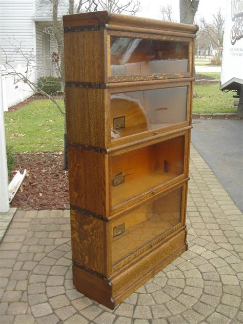 Globe Wernicke Barrister Bookcase Value by Antique Qsaw Oak Quot Globe Wernicke Quot Barrister Bookcase Quot Free