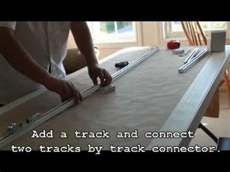how to install metechs motorized drapery track diy