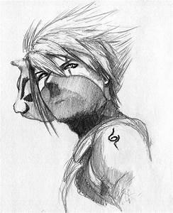 Kakashi ANBU sketch by ninjason57 on DeviantArt