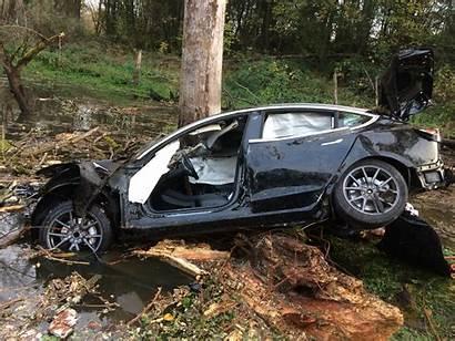 Tesla Clackamas Crashes Into County Crash Sheriff
