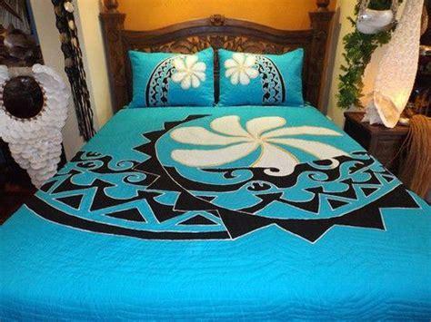 beautiful tivaivai polynesian quilt  named