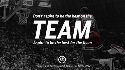 Best Sports Quotes 50 Inspirational Quotes About Teamwork And Sportsmanship