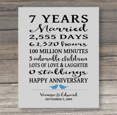 year anniversary gift funny anniversary gift  spouse