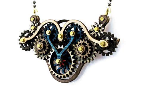Steampunk Gear Necklaces