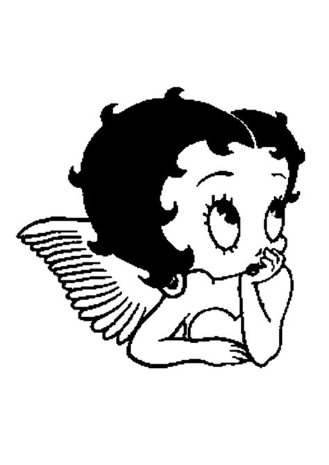 Betty Boop Coloring Pages 2 | Coloring Pages To Print