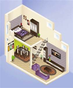 Tutorial: learn how to draw an isometric house structure ...
