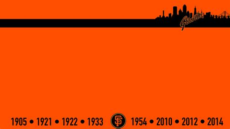 Giants Background Sf Giants 2016 Schedule Wallpapers Wallpaper Cave