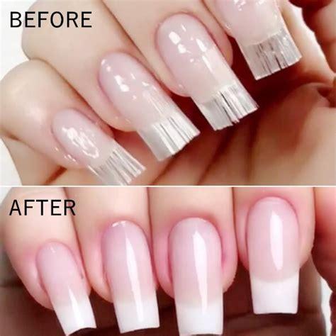 pcs fiberglass nail extension fiber silk extension nail
