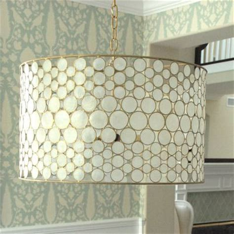 Capiz Drum Chandelier by 10 Diy Capiz Shell Chandeliers Guide Patterns