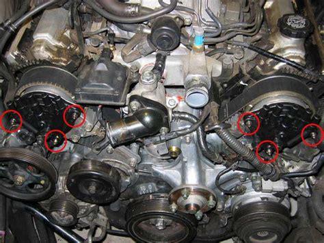 timing belt water pump replacement  lexus ls ls