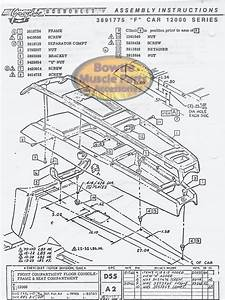 1967 67 Camaro Factory Assembly Manual Z28 Ss Rs