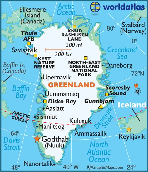 greenland map coloring pages learny kids