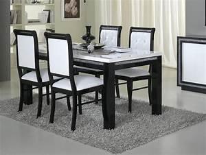 Chaise De Salle A Manger Blanche : chaise de salle a manger design blanche ~ Voncanada.com Idées de Décoration