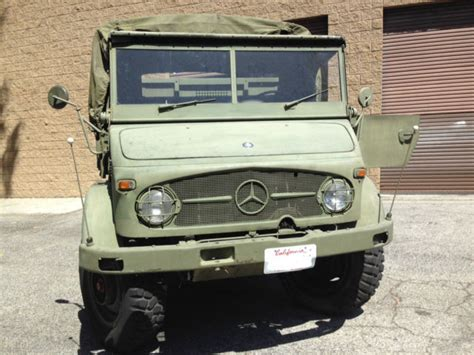 Unimog 404 Ex-belgian Army For Sale
