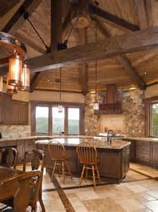 rustic cabin kitchen ideas rustic kitchen range hoods