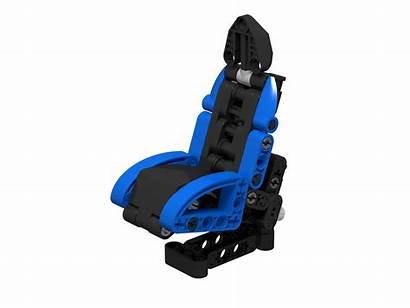Lego Technic Seat Mechanical Adjustable Moc Build