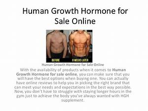Human Growth Hormone For Sale Online