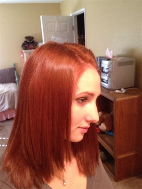 And Hair Color by My New Fall Hair Color I Used Revlon Colorsilk Light