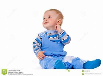 Kind Kleines Ein Lacht Sitzt Bambino Siede