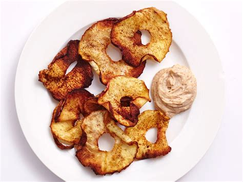 air fried apple chips healthy fryer cinnamon cauliflower yogurt recipes bites almond dip buffalo easy cooking these recipe beet rankin