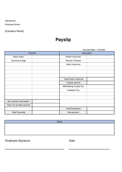 People having their very own businesses will, therefore, find a payslip template excel beneficial. Payslip Templates | Excel Free download