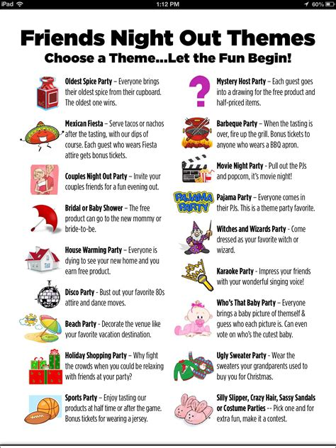 Here's list one of great party Themes to try