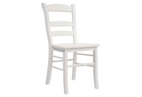 chaise bois blanc 47x40x91cm j line j line by jolipa 12829