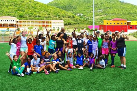 girls complete succesful oualichi girls summer soccer