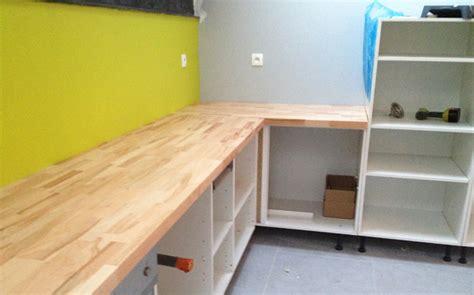 bureau partagé aménager sa cuisine ouverte sur mesure le du bois