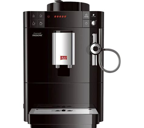 caffeo melitta buy melitta caffeo passione f53 0 102 bean to cup coffee machine black free delivery currys