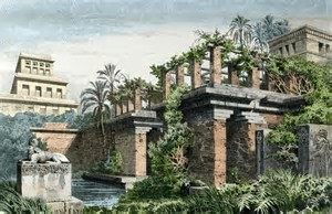 Image result for images hanging gardens of babylon