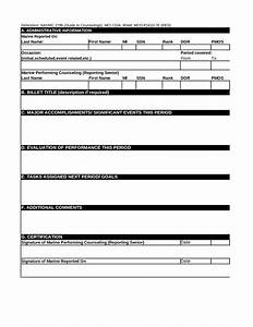 Usmc counseling worksheet template and usmc counseling for Usmc counseling sheet template