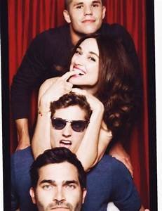 Charlie Carver, Crystal Reed, Daniel Sharman and Tyler ...