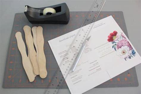 free wedding program fan diy pretty blooms wedding program paddle fan