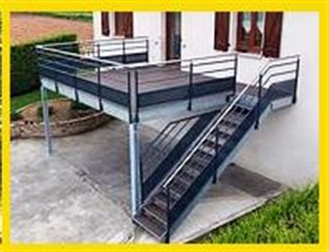 Terrasse Sur Pilotis Structure Metallique
