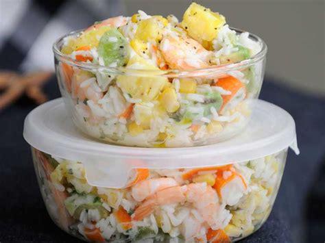 recette de cuisine froide salade hawaienne facile et pas cher recette sur cuisine actuelle