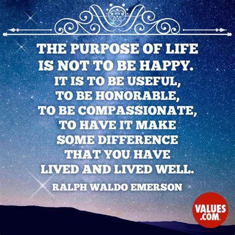 purpose  life     happy