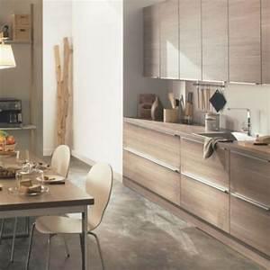 Cuisine Bois Clair : achetez votre cuisine chez but mobilier canape deco ~ Melissatoandfro.com Idées de Décoration