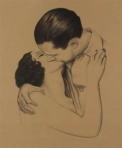Gallery Drawing Of Couple Kissing
